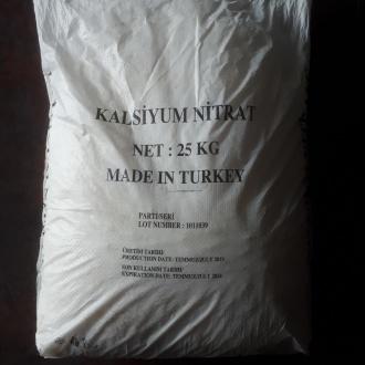 KALSİYUM NİTRAT - YERLİ